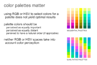 Color palettes matter - Brewer palettes and perceptual uniformity - Martin Krzywinski
