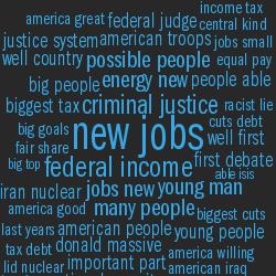 Word Analysis of 2016 US Presidential and Vice-Presidential Debates