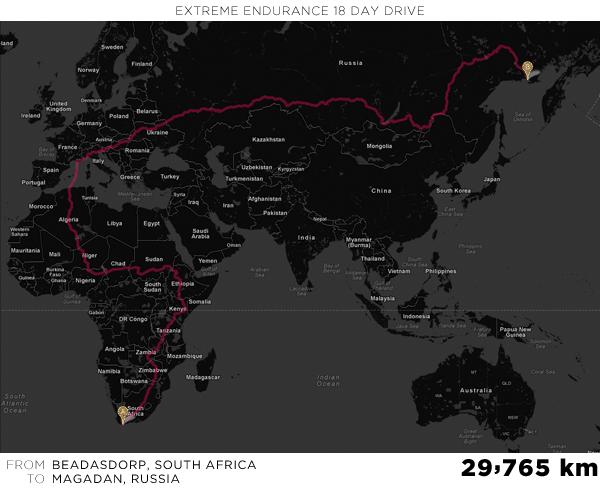 Longest Google Maps Route - Martin Krzywinski / Genome