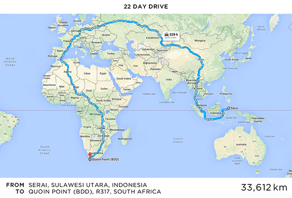 Longest Google Maps Route Martin Krzywinski Genome Sciences - How many google maps cars are there in the us