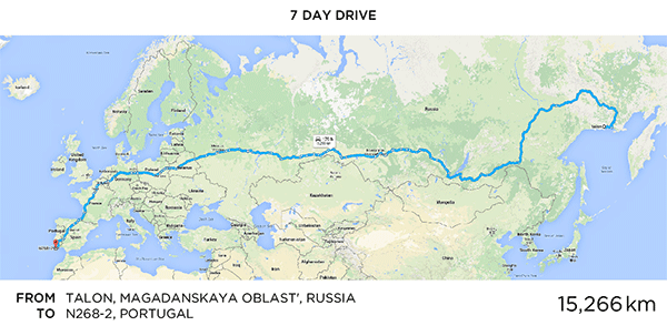 Longest Google Maps Route Martin Krzywinski Genome Sciences - Portugal map google