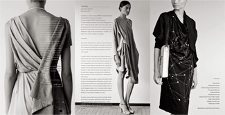 TNWMLC Fashion Line by Julia Valle, using work of Martin Krzywinski and the carpalx project.