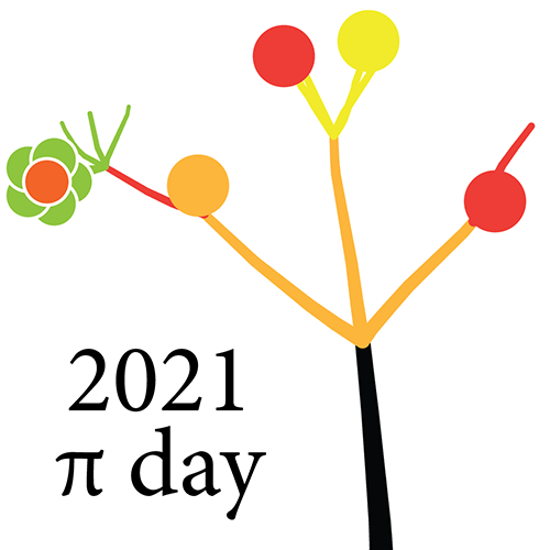 2021 Pi Day - Forest of Digits - Martin Krzywinski / Canada's Michael Smith Genome Sciences Centre / mkweb.bcgsc.ca