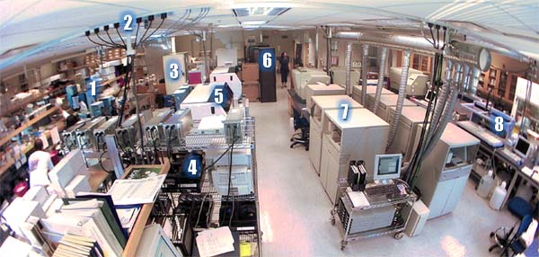 Genome Sciences Centre sequencing area