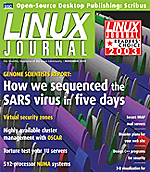 Linux Journal SARS Article