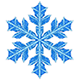 Snowflake simulation - Martin Krzywinski / Genome Sciences Center / mkweb.bcgsc.ca